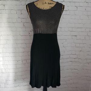 Vintage 90's Y2K Black Stretchy Tight Dress